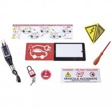 Комплект за работа с батерии на електрически и хибридни автомобили